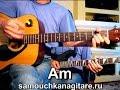 Сектор Газа Пора домой Тональность Am Как играть на гитаре песню mp3