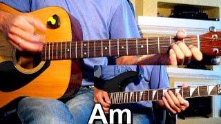 Сектор Газа - Пора домой Тональность ( Am ) Как играть на гитаре песню(Первые аккорды на гитаре https://www.youtube.com/user/samouchkanagitare Разбор песни на гитаре Текст, Аккорды и Бой подробно..., 2014-09-03T14:34:41.000Z)