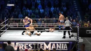 Blue Show and The Miz Vs. Yokozuna and Shawn Michaels