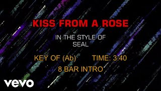 Seal - Kiss From A Rose (Karaoke)