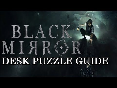 Black Mirror - Library Desk Puzzle - Chapter 1 (All 3 Parts)