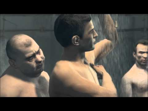 Gay prison rape shower