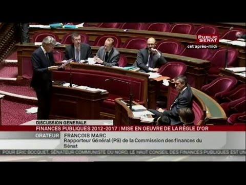 Suite du projet de loi organique - programmation et gouvernance des finance... - SEANCE (30/10/2012)