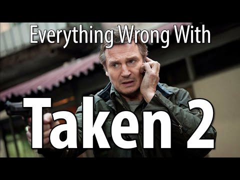Everything Wrong With Taken 2 in 14 Minutes Or Less poster