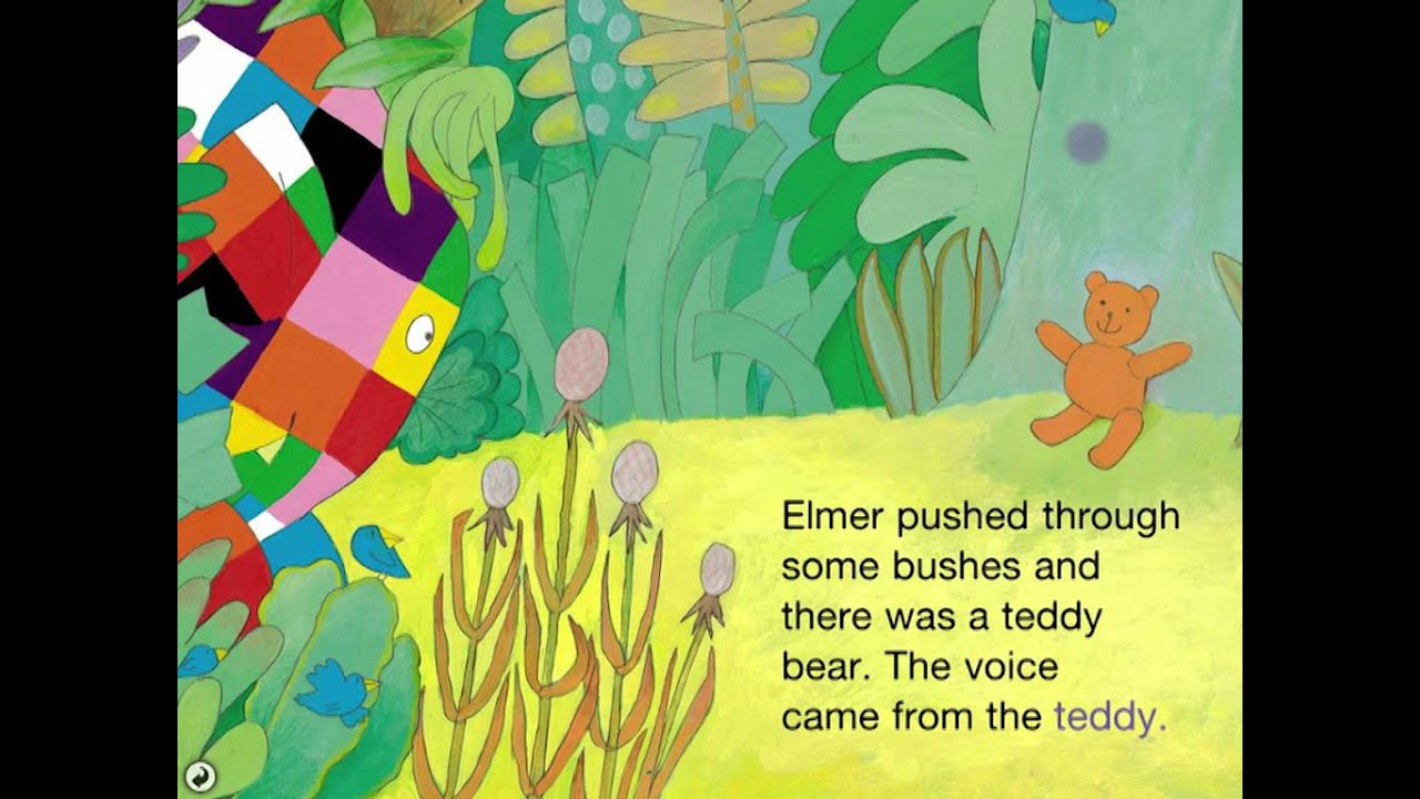 elmer and the lost teddy part 3 book apps youtube