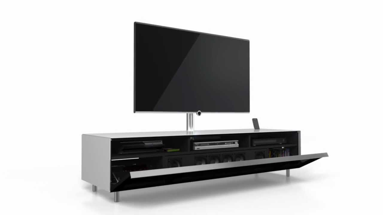 Off White Tv Meubel.Spectral Audio Furniture Scala Sc1651
