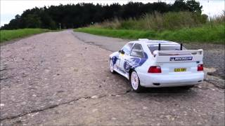 Gambar cover Tamyia Ford Escort WRC testdrive