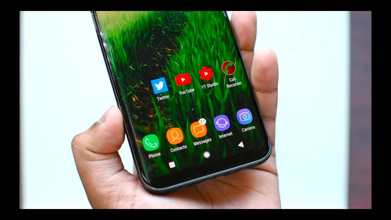 Download Android Oreo Navbar for Samsung Galaxy S8, S8+ and Note 8 | NO ROOT