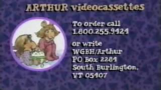 ORIGINAL ''Arthur'' de la Serie de TV de Apertura/Cierre desde 1996!!