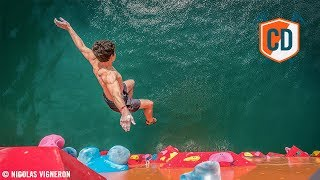 15m Up, Only One Way Down: Psicobloc Marseille | Climbing Daily Ep.1009