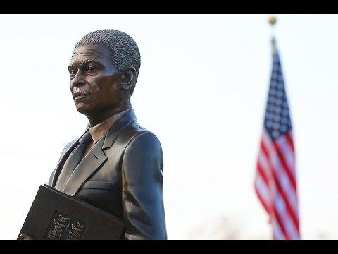 Statue Unveiling Ceremony of Benjamin Mays