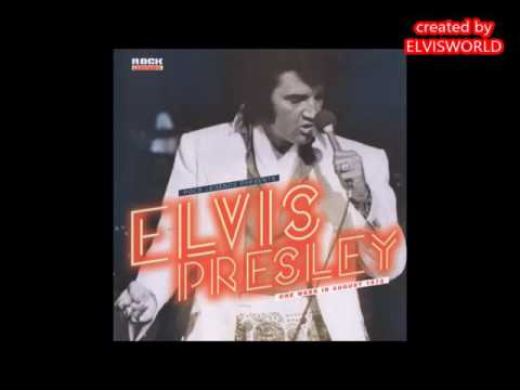 ELVIS PRESLEY,  ONE WEEK IN AUGUST 1972