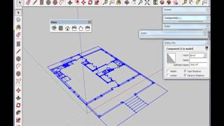 Part 2: Import Dwg And Organize Sketchup Model