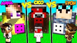 Casa Segreta Di Lyon Contro Cico Contro Anna Su Minecraft