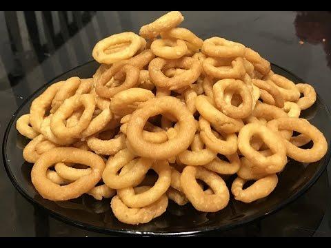 how to prepare onion rings in telugu