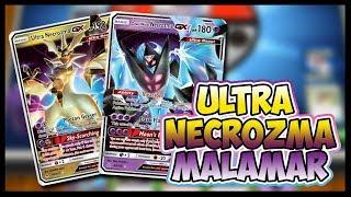 3x Games with Ultra Necrozma GX / Malamar - Pokemon TCG Online Gameplay