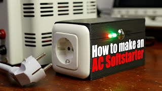 How to make an AC Softstarter because my autotransformer keeps tripping my circuit breaker!