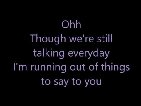 Three Empty Words - Shawn Mendes (lyrics)