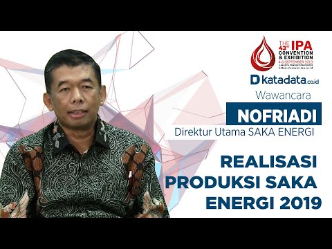 Dirut Saka Energi Nofriadi Ungkap Realisasi Produksi Saka Energi 2019 | Katadata Indonesia