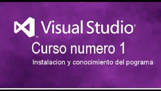 Aprendiendo Visual Studio 2015 (Parte 1)