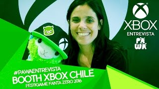 [FESTIGAME 2016] BOOTH Xbox Chile: Victoria Catuzzi - Category Manager