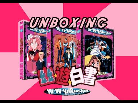DVD Yu Yu Hakusho Vol - 16, 17 e 18 - UNBOXING