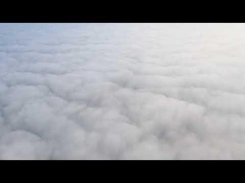 Uncut 40min Aeroflot Winter Landing in Moscow
