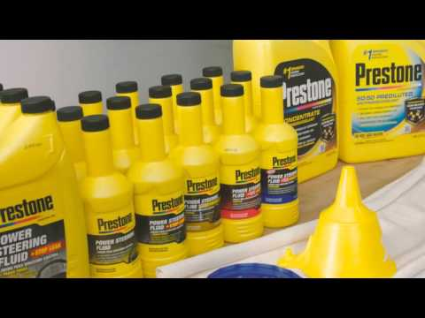 Prestone® How To Change Your Power Steering Fluid