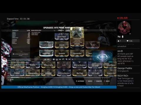 Warframe -  Trade Chat Pwned, Void Fissures, Prime Junk For Baro