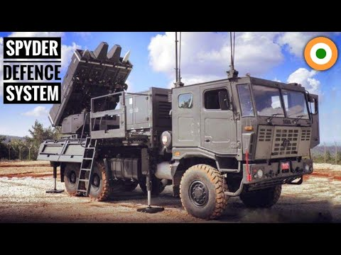 SPYDER Air Defence System India - India's Smart Air Defence System (Hindi)