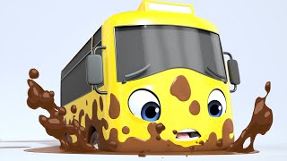 Carwash Song! | Go Buster | +More Vehicle Songs | Little Baby Bum