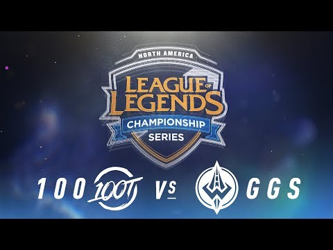 100 vs. GGS - Week 4 Day 2 | NA LCS Spring Split | 100 Thieves vs. Golden Guardians (2018)