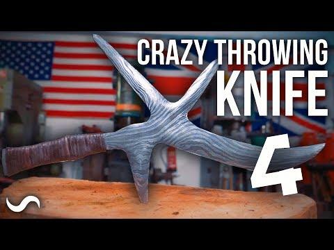 MAKING A HUNGA MUNGA: African Throwing Knife! Part 4