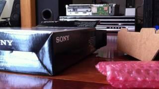 sony uwa br100 wireless dongle unboxing