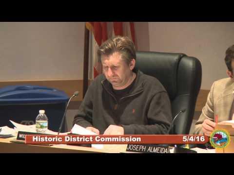 Historic District Commission 5.4.16