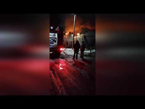 Историческое здание сгорело в Тайшете