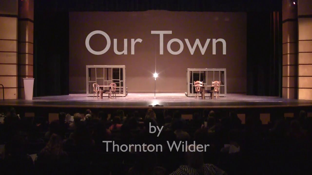 pessimism thornton wilder s our town The independent books  the struggle for cultural supremacy during the cold war by  the russians took off thornton wilder's play our town because it.
