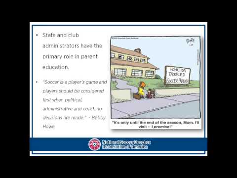 NSCAA: Administrator's Role in Player Development presented by Sam Snow
