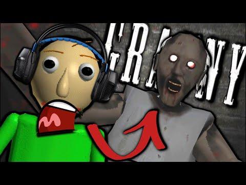 What If Baldi Played Granny Horror Game? (Baldi's Basics In Granny Mobile Horror Game)
