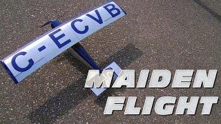 DutchRC - HobbyKing Pietenpol Aircamper - Maiden Flight! :)