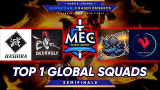 MEC Europe | Semifinals |  Top 1 Global Squads Mobile Legends Tournament