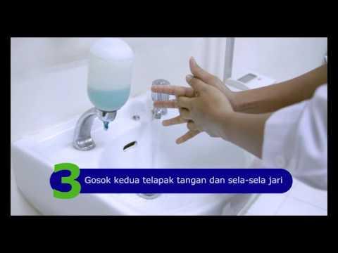 6 Langkah Mencuci Tangan yang Benar