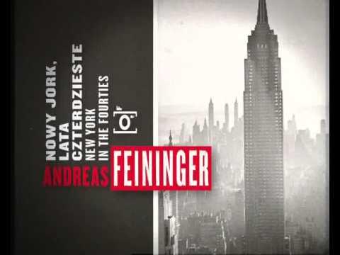 MCK Kraków - Andreas Feininger. Nowy Jork, lata czterdzieste - zwiastun wystawy