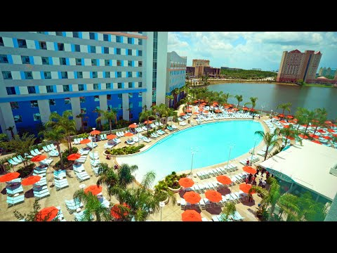 Tour: Universal's Endless Summer Resort: Surfside Inn and Suites