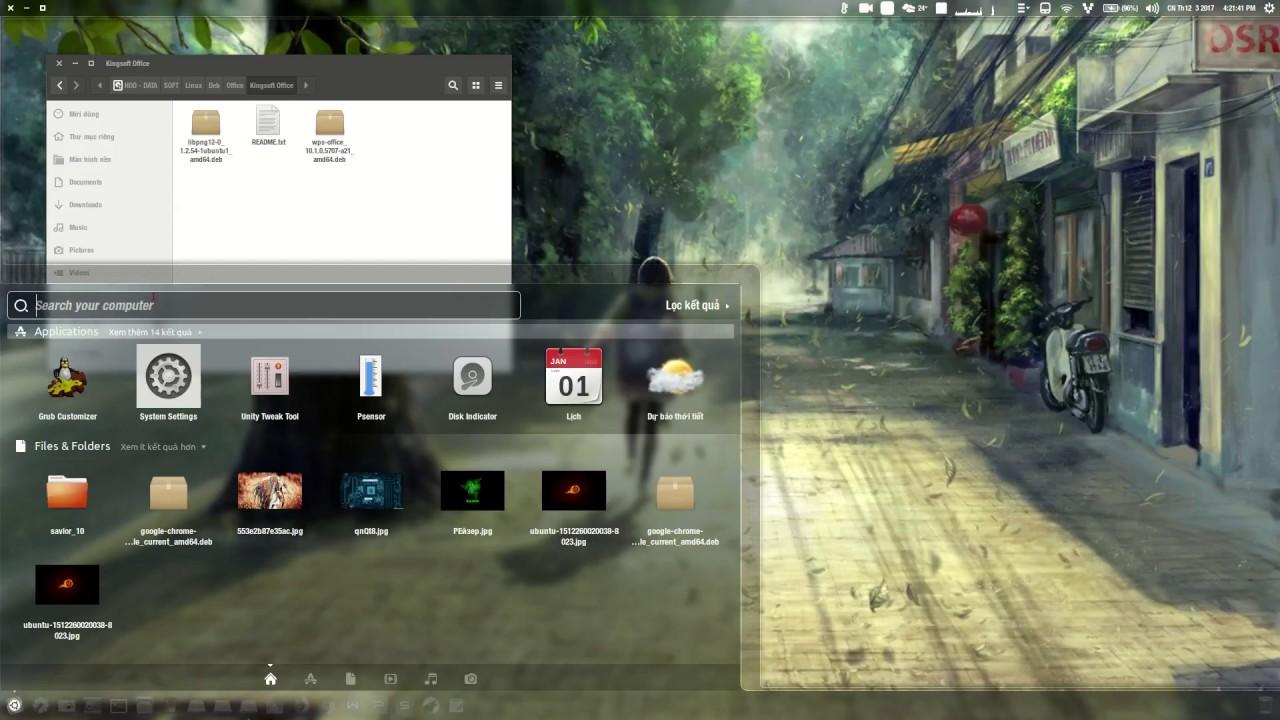 Cài đặt bộ Office tốt nhất cho Ubuntu 17.04