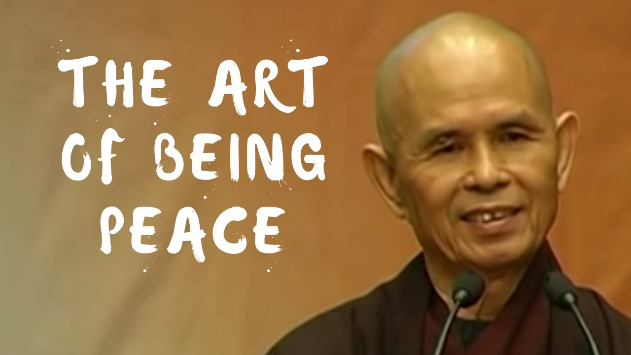 Download The Art of Being Peace | Dharma Talk by Thich Nhat Hanh, 2008 05 13