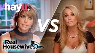 Kim Confronts Lisa on the Plane | The Real Housewives of Beverly Hills | Season 5