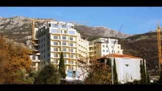 Недвижимость в Черногории, новые квартиры в Бечичи - New apartments in Montenegro, Becici 6262(, 2013-11-22T09:23:03.000Z)