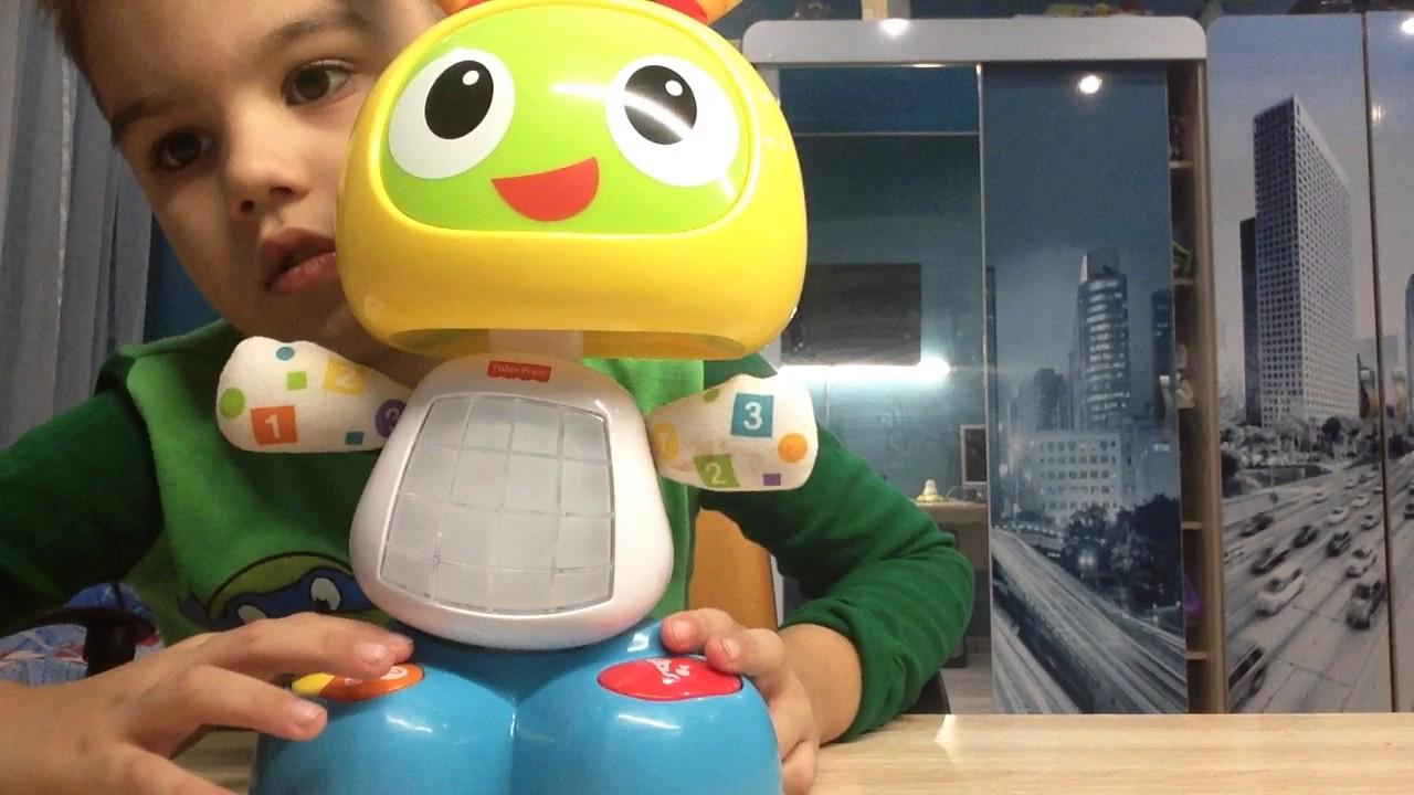 Обучающий робот Бибо, Fisher-Price (Фишер-Прайс) - YouTube