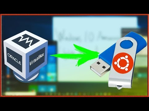 Как установить Ubuntu 19.04 на флэшку через VirtualBox?